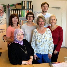 Das tut gut: Das Team des Alzheimer-Telefons berät Angehörige von Menschen mit Demenz. Die Deutsche Alzheimer Gesellschaft ist Mitglied der Initiative