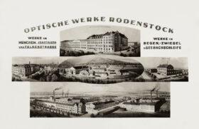 In gute Hände: Optische Werke Rodenstock, um 1928. Beatrice Rodenstock hätte den Betrieb weiterführen können. Heute berät sie Familienunternehmen bei der Nachfolgeplanung. Ein Gespräch über Familie, Loslassen und Gutes tun. In: Prinzip Apfelbaum. Magazin über das, was bleibt. Foto: Rodenstock GmbH / CC-BY-3.0