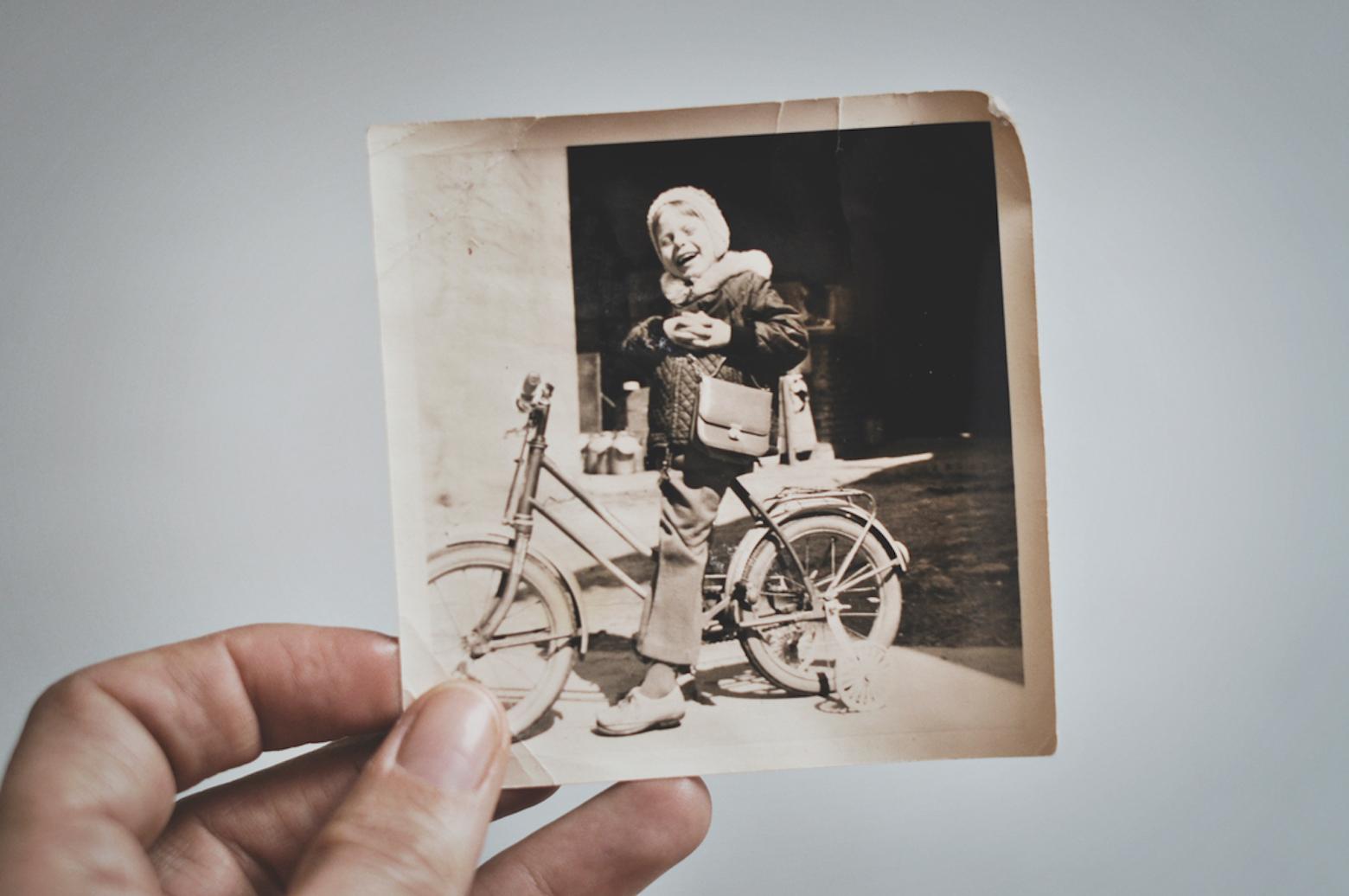 Ein altes Foto: Ältere Menschen sind reich an Lebenserfahrung.